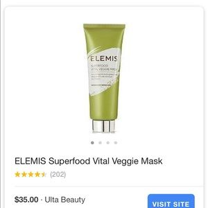 Other - Elemis superfood veggie mask
